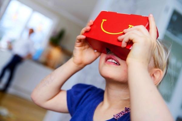 McDonald's 'Happy Goggles' - the brand's venture in VR