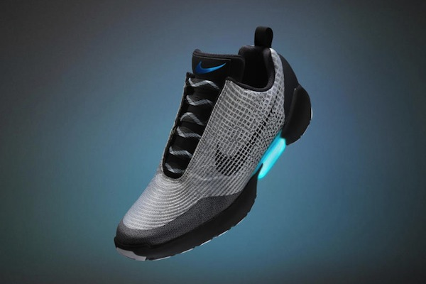 Back to the Future...now: Nike's 'self-lacing' HyperAdapt 1.0 trainers (source: Nike)