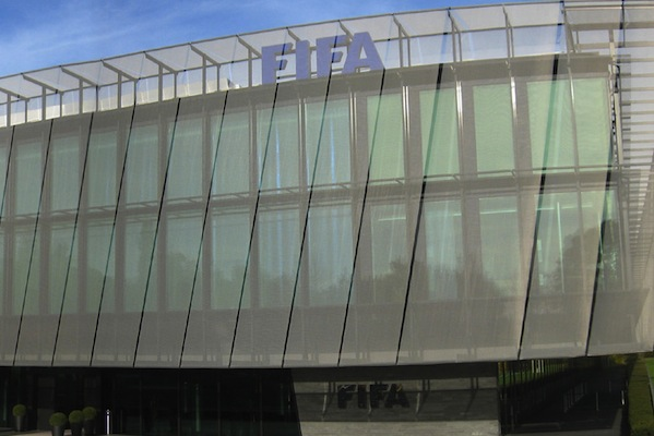 FIFA headquarters. World Cup sponsors have been urged to take action over human rights issues at Qatar 2022 (MCaviglia/Wikipedia)
