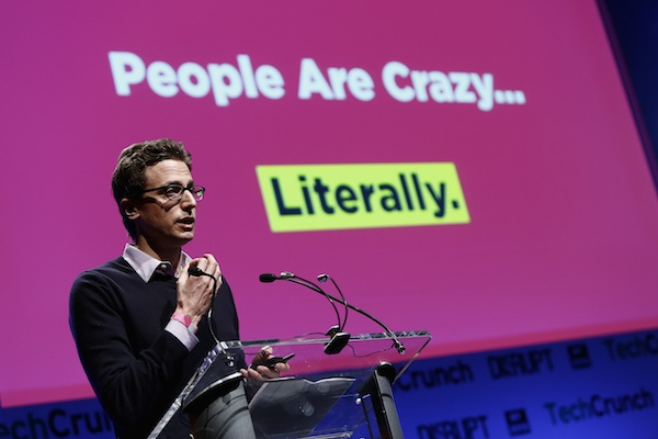 Jonah Peretti, CEO of BuzzFeed, a company that's after big brand bucks. (TechCrunch/Flickr)