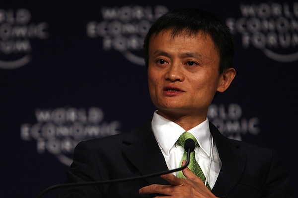 Jack Ma's having a spat with the US anti-counterfeit authorities. (World Economic Forum/Flickr)