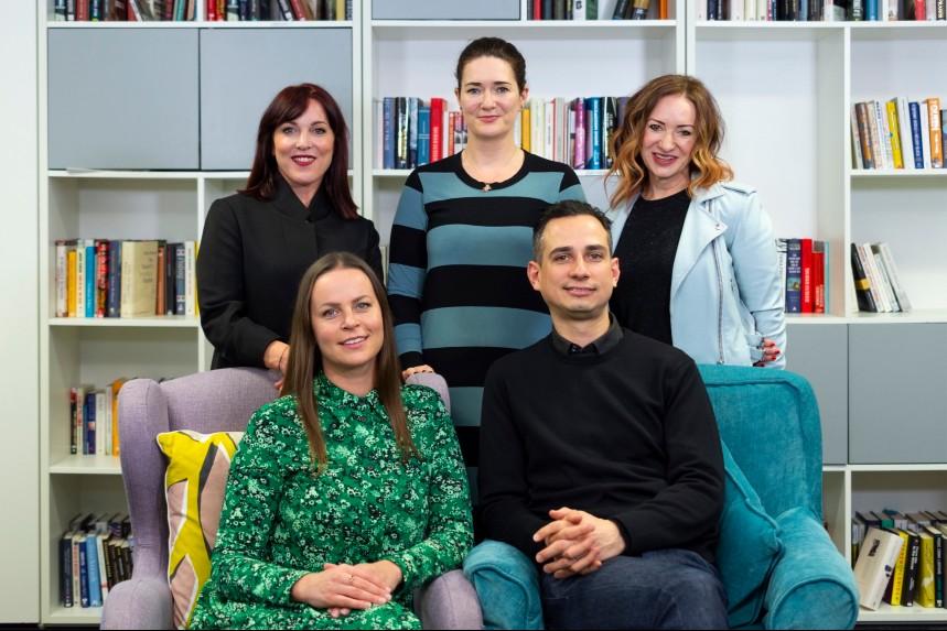(Clockwise from top left): Rachel O'Sullivan, Anne Clarke, Kath Ludlow, Paul Dalton-Borge and Tonia Savchenko