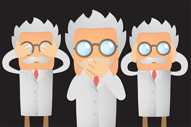 Scientists claim they are being gagged under the guise of purdah rules (pic credit: Artenot/Thinkstock)