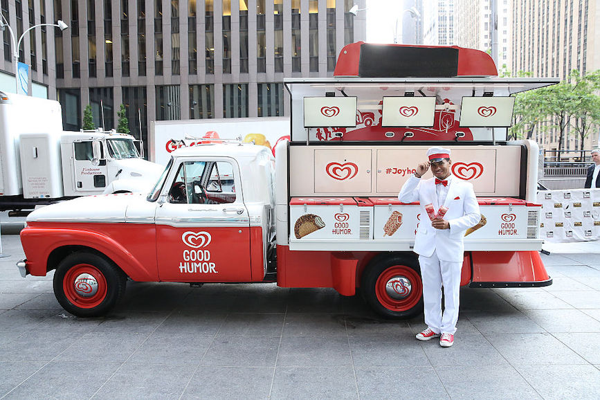 Good Humor used its heritage in ice cream trucks to weigh in on a racist jingle issue. (Pic: Getty Images.)