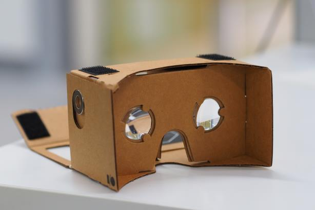 Image via Wikimedia Commons, by othree - Google Cardboard, CC BY 2.0