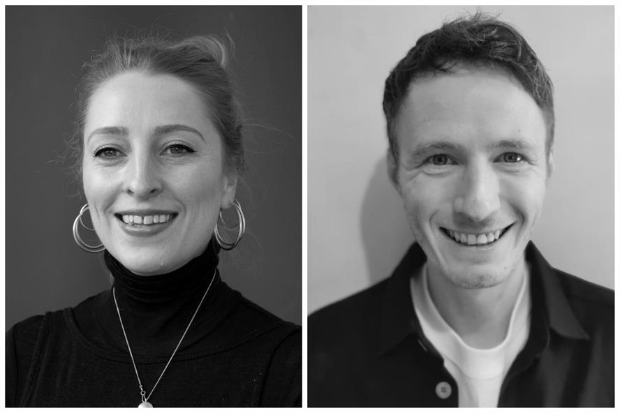 New hires: Bronwyn Fieldgate (L) and Andy Garner (R) join Grayling's Ignite team