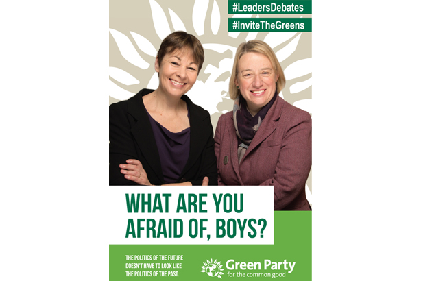 Caroline Lucas MP and Natalie Bennett: Have issued a teasing campaign message