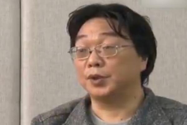 Gui Menhai allegedly confessing on CCTV (screen grab)