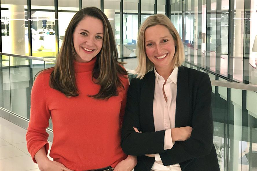 Holly Sutton (left), communications partner, ZPB Associates, with the agency's founder and chief executive Zoe Bedford
