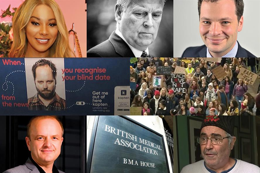 Some of the individuals and organisations embroiled in controversy in 2019