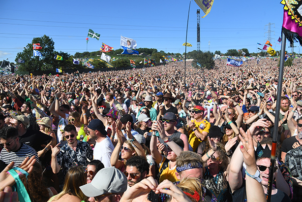 The campaign targets festival-goers, such as those at last month's Glastonbury Festival (Pic credit: Dave J Hogan/Getty Images)