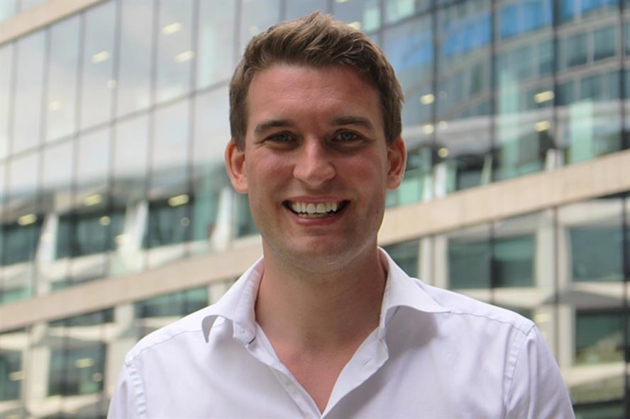 George Robinson, head of UK government relations at travel platform Trainline