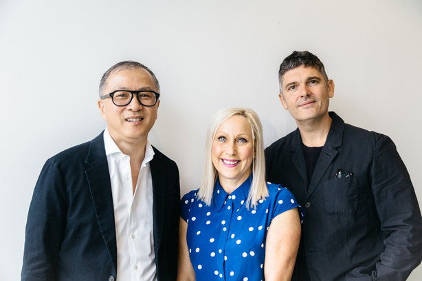 L-R: Publicis Health's Philip Chin, Victoria Wright and Andrew Spurgeon