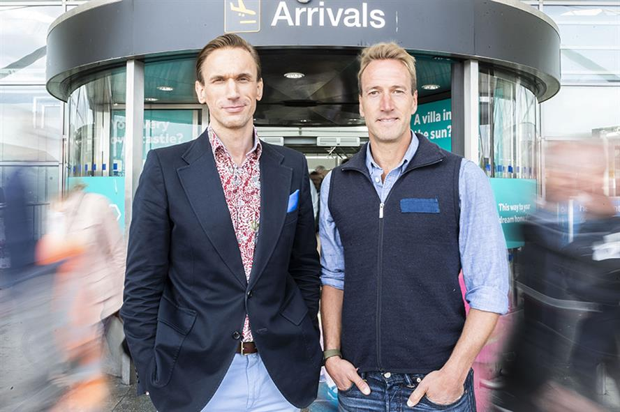 (L-R) Dr Christian Jessen and Ben Fogle fronted a travel health campaign for Sanofi Pasteur