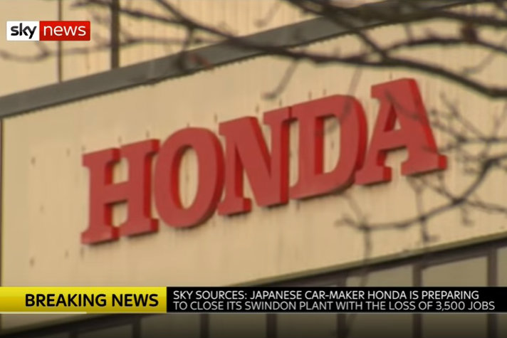 Closure: Sky News reported on the plan on Monday before the official announcement