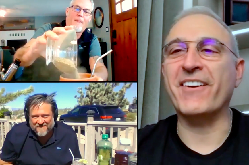 Michael Orkin and Karl Norberg virtually interview CEO Antonio Neri.