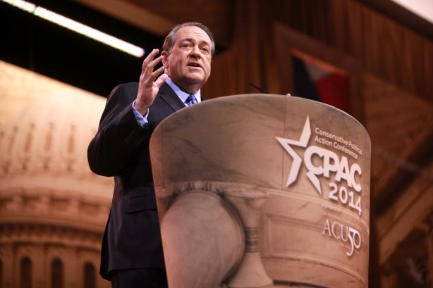 Mike Huckabee, speaking at CPAC 2014