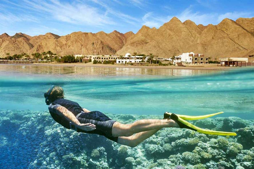 Hurghada beachfront, Egypt