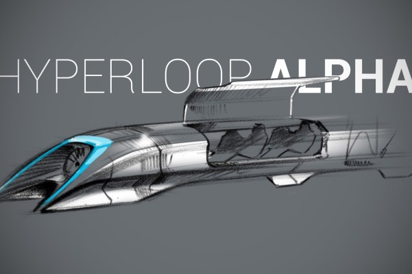 The Hyperloop, which could revolutionise how we travel