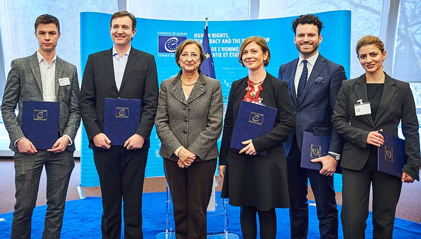 ICCO's induction took place at the Council of Europe headquarters in Strasbourg