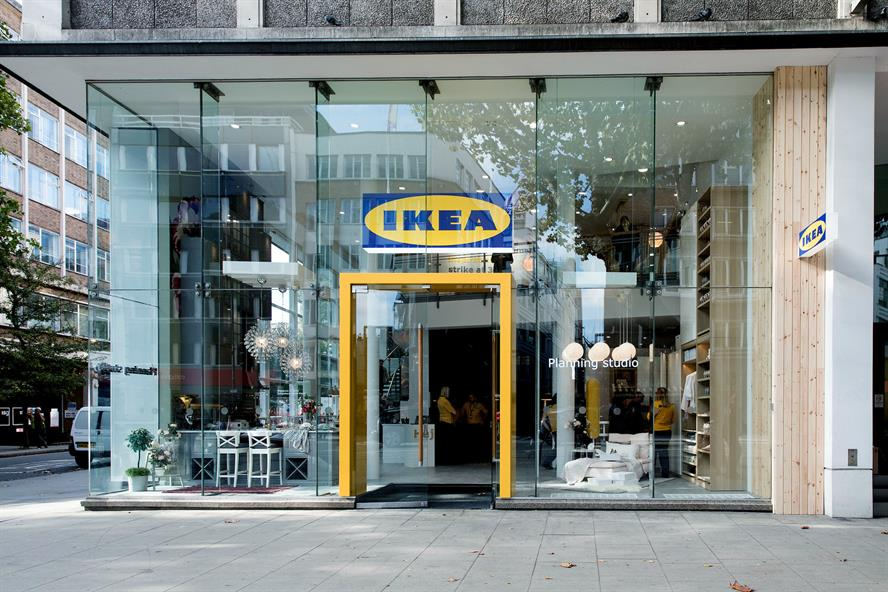 Ikea's planning studio on London's Tottenham Court Road
