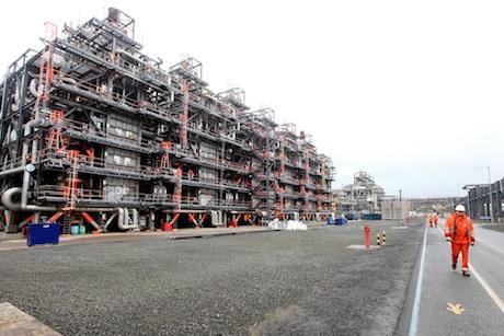 Development: A key shale gas cracker at Ineos' Grangemouth site