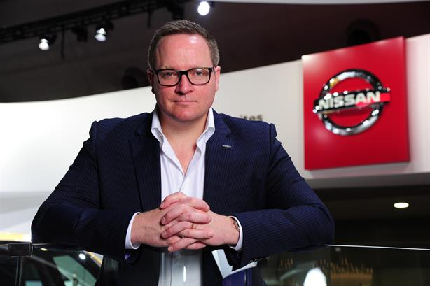 Stuart Jackson, VP brand and communications, Nissan Europe