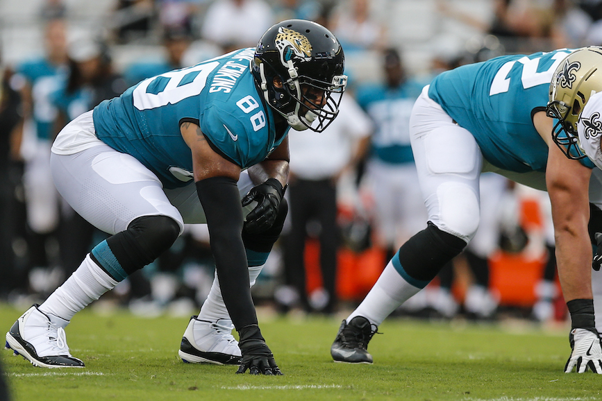 The Jacksonville Jaguars hired former Houston Texans comms head Amy Palcic. (Photo credit: Getty Images).