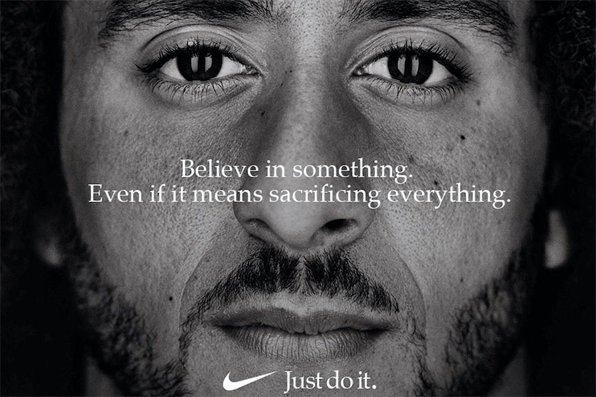 Nike was cited as a Black Lives Matter ally in the report.