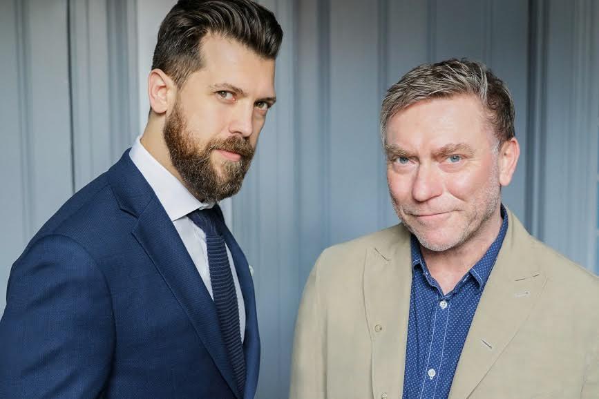 (L-R) Josh von Scheiner and Simon Kelly
