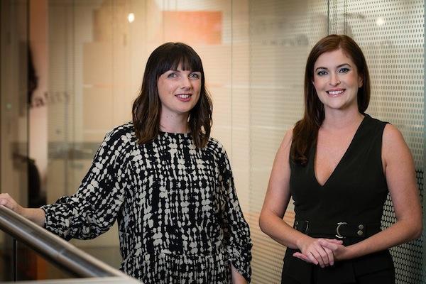 Heather Mollins and Patrice Pandeleos