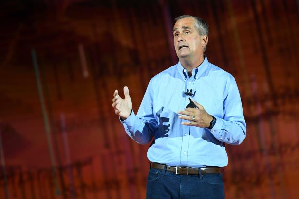 Intel CEO Brian Krzanich at CES 2018.