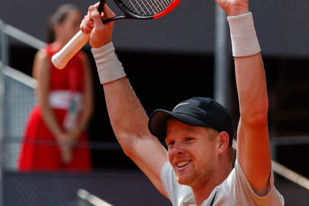 Cause for celebration: tennis star hires agency (Credit: ATP Tour photography)