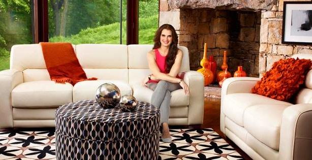 Brooke Shields has served as a brand ambassador for La-Z-Boy since 2010.