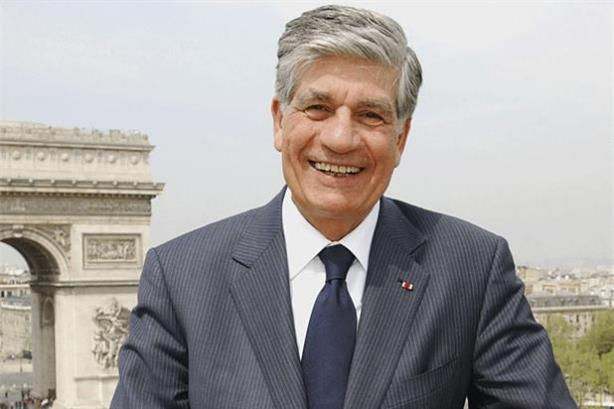 Publicis Groupe CEO Maurice Levy