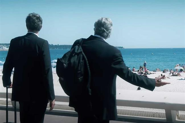 Arthur Sadoun and Maurice Levy arrive at a very different Cannes.