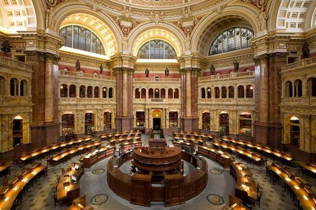The Library of Congress' Main Reading Room