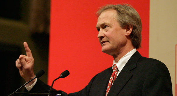 Lincoln Chafee became the latest Democrat to challenge Hillary Clinton for the Democratic nomination.