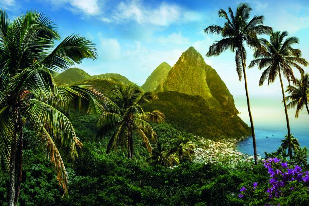 Tropical paradise: Saint Lucia Tourist Board and Publicasity team up
