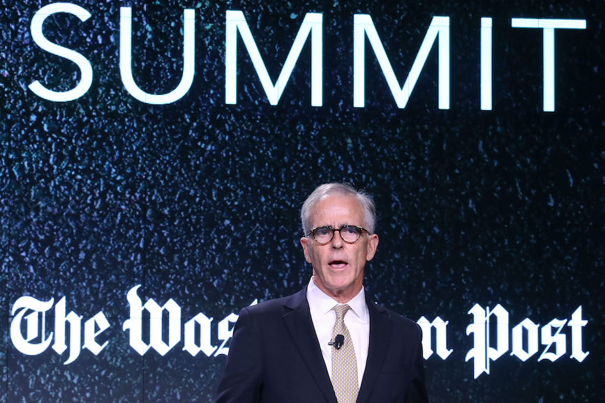 Mahoney at a 2016 Washington Post Summit. (Photo credit: Getty Images)