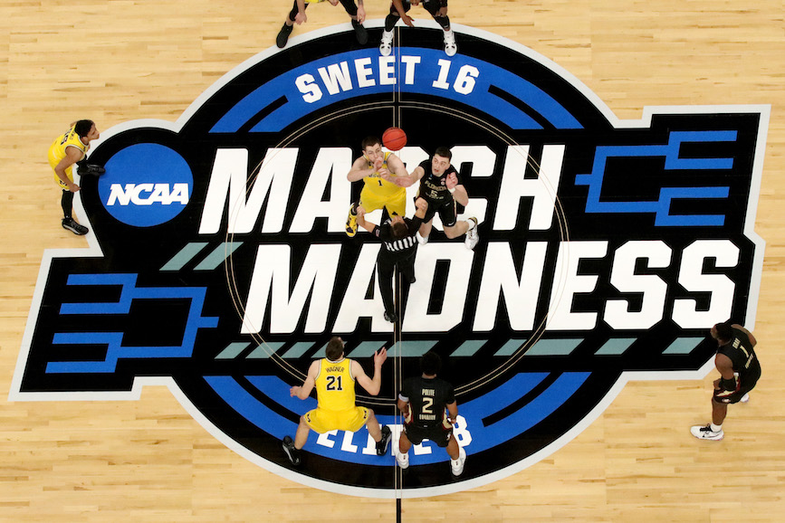 The University of Michigan took on Florida State University in the NCAA Tournament last weekend. (Photo credit: Getty Images).
