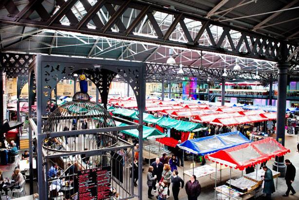 Old Spitalfields Market: Now working with Threepipe