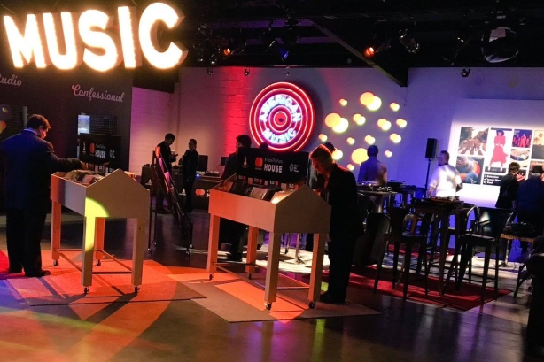 Mastercard's pop-up record shop and music venue