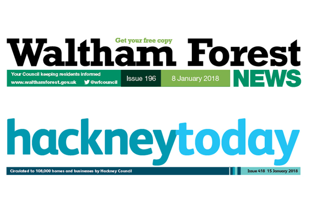 The Secretary for Local Government has told Hackney and Waltham Forest councils to stop publishing newspapers fortnightly