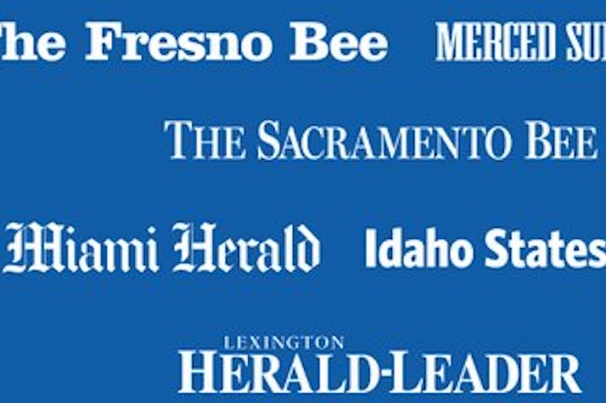 Image via McClatchy's Twitter page.