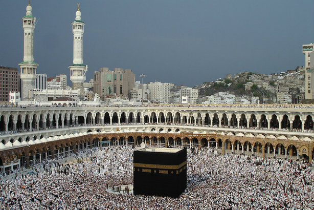 The Holly Ka'ba, a central part of the Mecca pilgrimage (Credit: Camera Eye on Flickr)