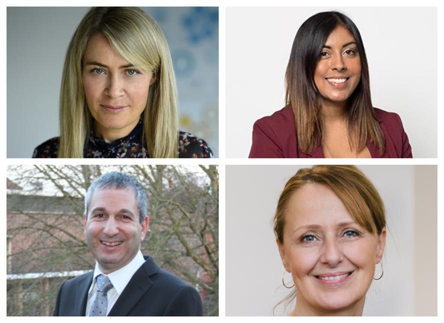Some of the mentors (clockwise from top left): Sarah Scholefield, Sarah Samee, Ali Jeremy and David Holdstock