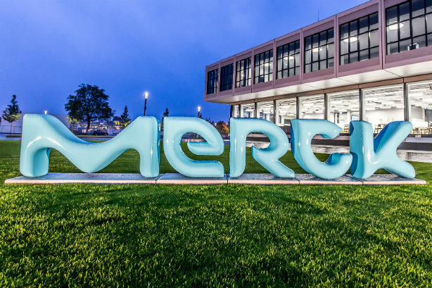 Merck: unveiled new logo in 2015