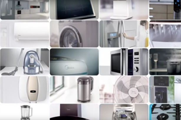 Screenshot from Midea Global's YouTube video,