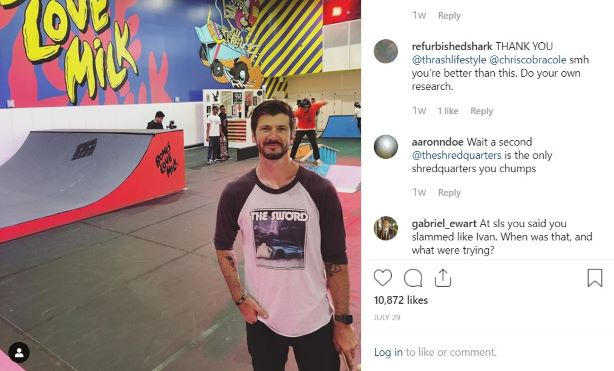 Skateboarding influencer Chris Cole for the California Milk Processor Board